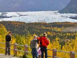 Matanuska Glacier overlook