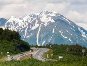 Seward Highway road trip Alaska driving