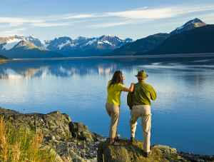 Turnagain Arm sightseeing Anchorage Alaska