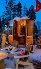 Fondue Village - Winter - Christmas- Ocean House