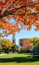 Newport Fall Foliage Queen Anne Square