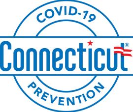 COVID-19 CT Prevention Badge