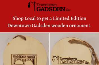 Shop Downtown Gadsden and Receive a Free Keepsake Ornament