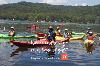 Kayaking in North Alabama