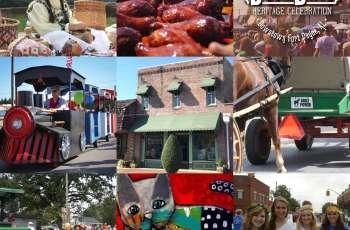 September Festivals Collage
