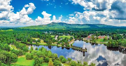Furman University Aerial Overview