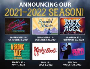 John W. Engeman Theater Announces The 2021-2022 Season