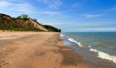 Central Avenue Beach Indiana Dunes
