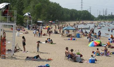 Hammond Lakefront Beach