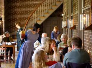 Shaker Village Trustee's Office Dining Room