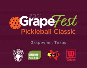 GrapeFest 21 Tennis & Pickleball Classic Logo