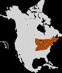 Eastern North America Maple Syrup Producing Region