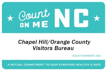 Count On Me NC Name Badge - Chapel Hill/Orange County Visitors Bureau