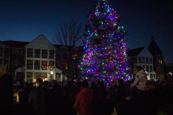 Kenosha Christmas Tree Lighting Ceremony