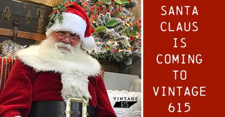 Vintage 615 Photos with Santa