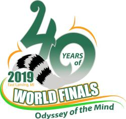 2019 Odyssey of the Mind World Finals Logo