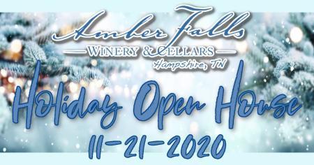 Holiday Open House at Amber Falls Winery & Cellars