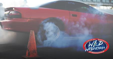 Wild Wednesdays at Lucas Oil Raceway (Photo courtesy of the Lucas Oil Raceway Facebook page)
