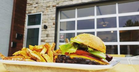 Simpl on Sevier Veggie Burger