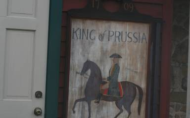 King of Prussia Inn Sign