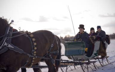 Northern Star Farm Sleigh Ride