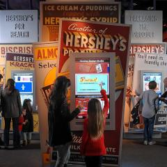 Hershey Story Museum: Exhibit Halls Feature Interactive Areas for Kids