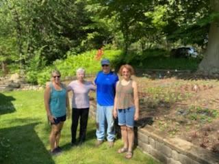 Krider Quilt Garden Planting 2021