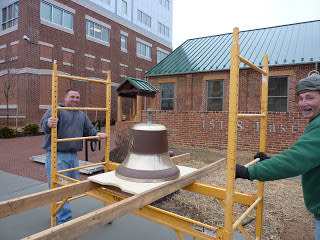 Bell Being Installed