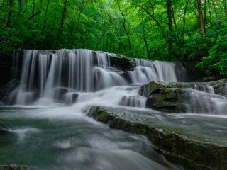 Clare Kaczmarek, Jonathan Run Falls, Ohiopyle State Park