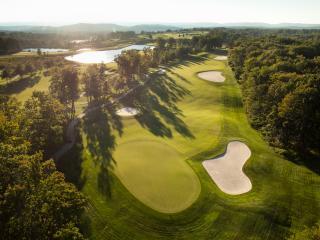 Golfing at Nemacolin Woodlands Resort