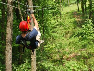 Zip Line at Seven Springs