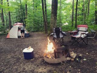 Camping Ohiopyle