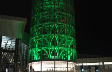 Salt Palace Convention Center Green Tower