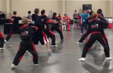 Karate Tournament at the Mountain America Expo Center