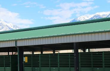 Barns at the Salt Lake County Equestrian Park