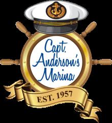captain anderson's marina logo