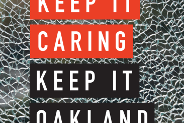 Keep it Caring Keep it Oakland Graphic
