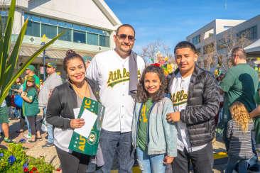 A's Fan Fest - family