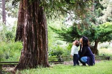 Family at Oakland Park Photo