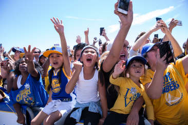 Warriors Parade 2017