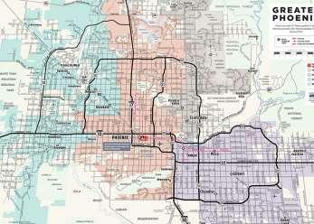 map of phoenix metro area Phoenix Maps Greater Phoenix Trail Guides Street Maps map of phoenix metro area