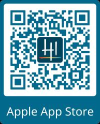Apple App Store QR Logo and Frame