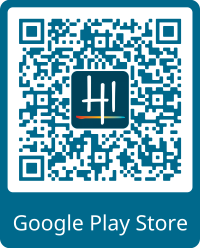 Google Play Store QR Logo and Frame