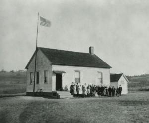 c.1850 Ichabod Crane Schoolhouse