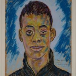 Portrait of James Baldwin 1944