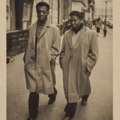 Beauford Delaney and James Baldwin