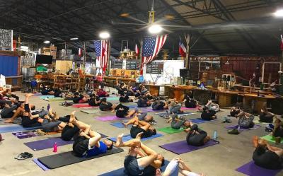 Yoga at TUPPS