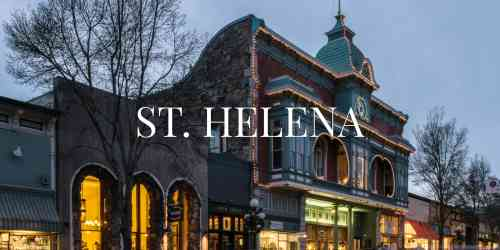 Town of St. Helena, Napa Valley