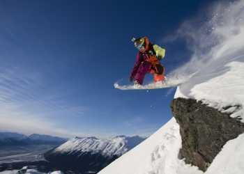 Alyeska Resort Snowboarding