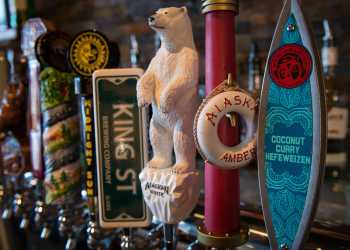 Alaska beers on tap at Haute Quarter Grill